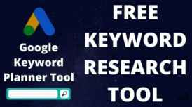 How To Use Google Keyword Planner For Free