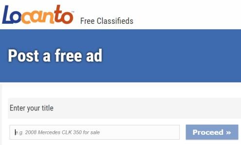 Classified Ad Title - Locanto Ads title