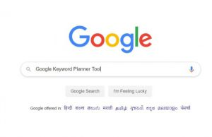 Google Keyword Planner Tool for Free