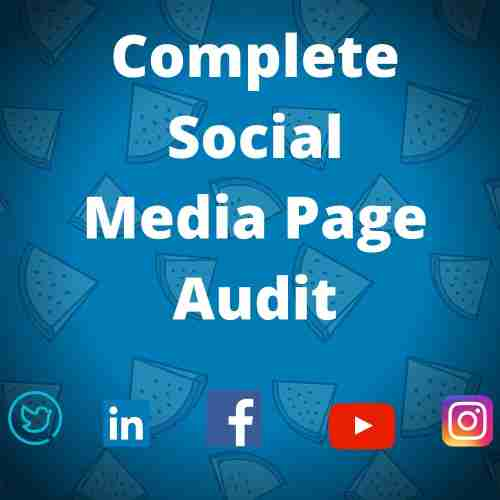 Complete Social Media Page Audit